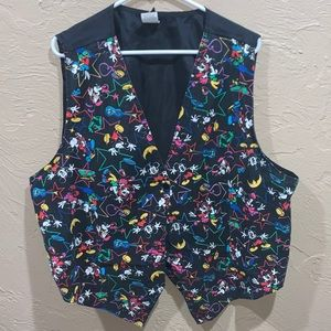 Vintage Mickey Unlimited Mickey Mouse Tuxedo Vest